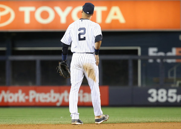 Derek Jeter S No 2 Never To Be Seen Again On Pinstripes