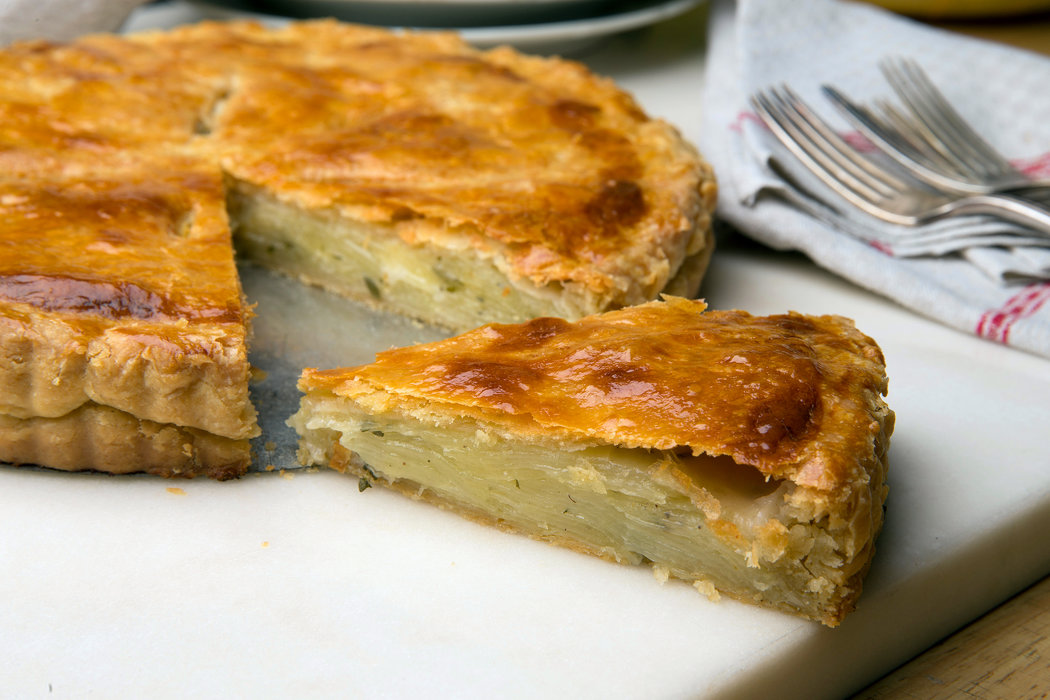 A Savory Potato Tart Recipe With a Relaxed Attitude on