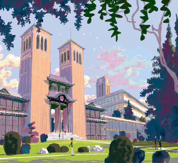 Designing a College Campus in Big Hero Six  The New