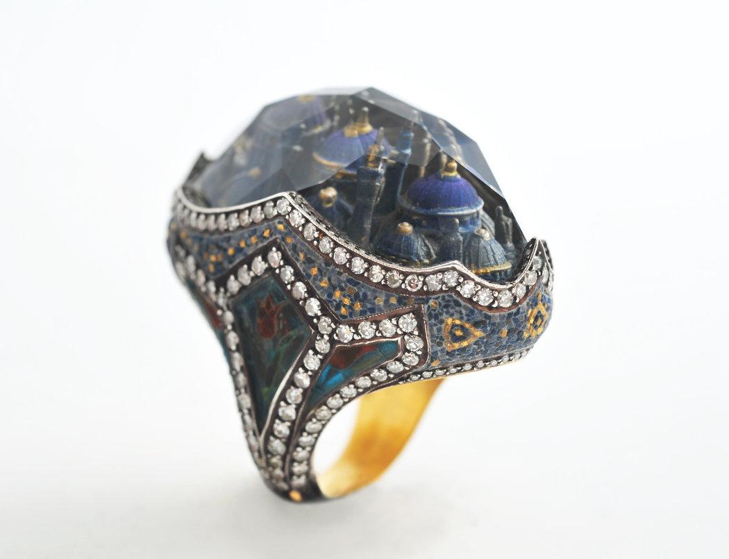 Sevan Bicakcis Jewelry Celebrates Istanbuls Heritage