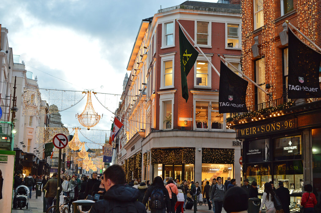 Christmas in Dublin Good Cheer and Great Deals  The New York Times