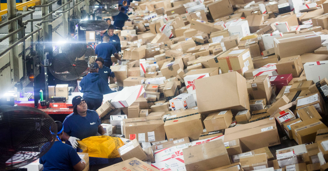 Crunch Time For FedEx And UPS As Last Minute Holiday Shipping Ramps Up The New York Times