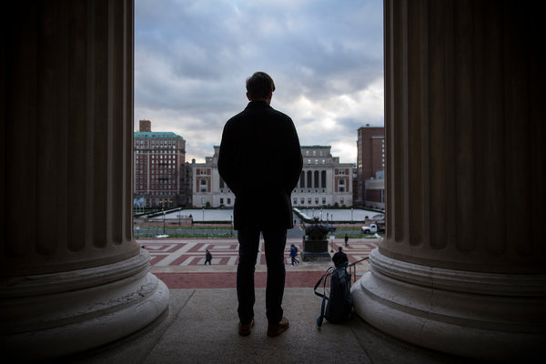 Paul Nungesser, who was accused of rape, says Columbia University is letting mob justice overrule its official procedures. Credit Damon Winter/The New York Times