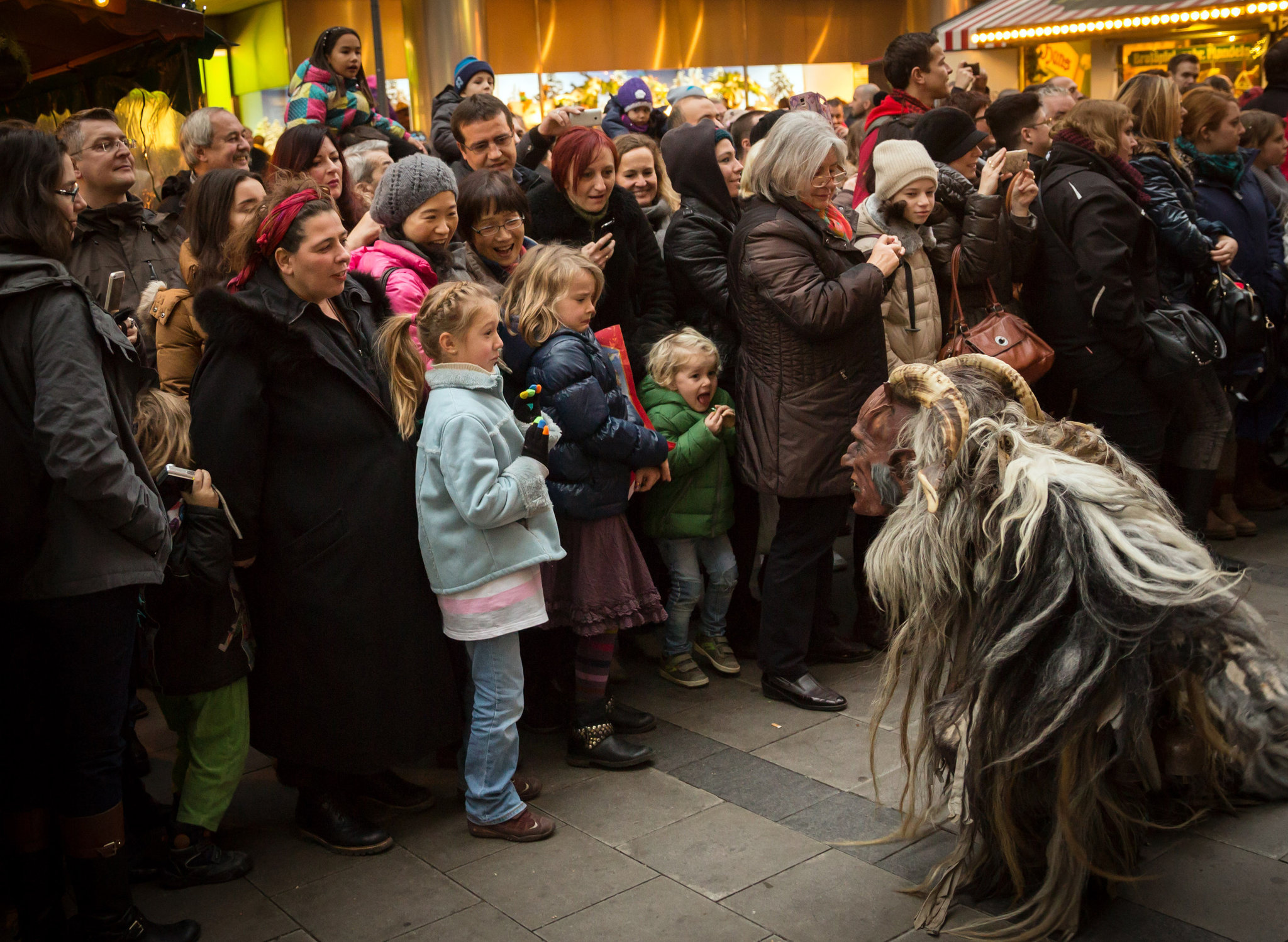 Krampus in Munich (Gordon Welters, NYTIMES)