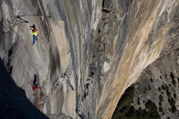 Upper Yosemite Falls Wallpaper El Capitan S Dawn Wall Coverage Of The Ascent At Yosemite