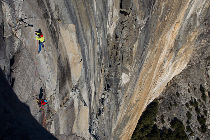Upper Yosemite Falls Wallpaper El Capitan S Dawn Wall Coverage Of The Ascent At Yosemite