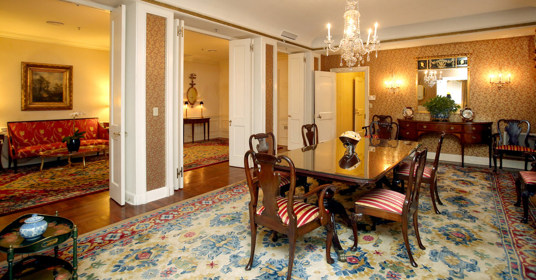 Inside the Waldorf Astorias Presidential Suite  The New