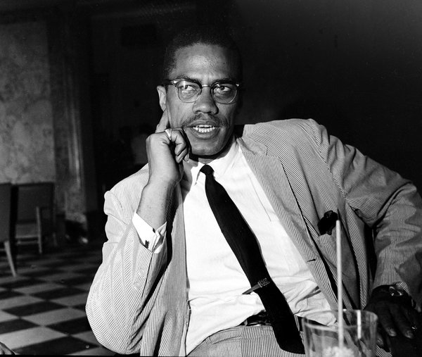 Malcolm X Credit Associated Press