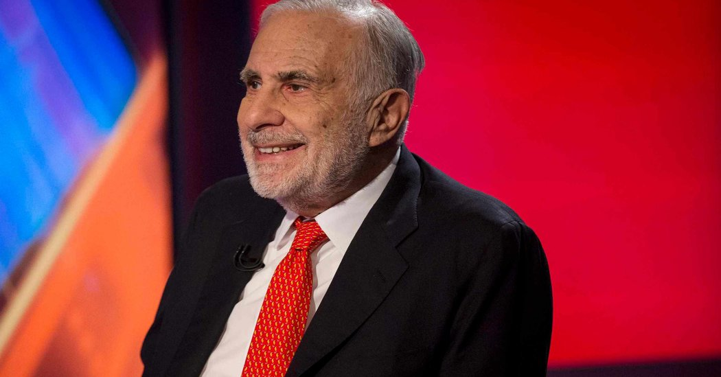 Carl Icahn Takes 7.1% Stake in Xerox - The New York Times
