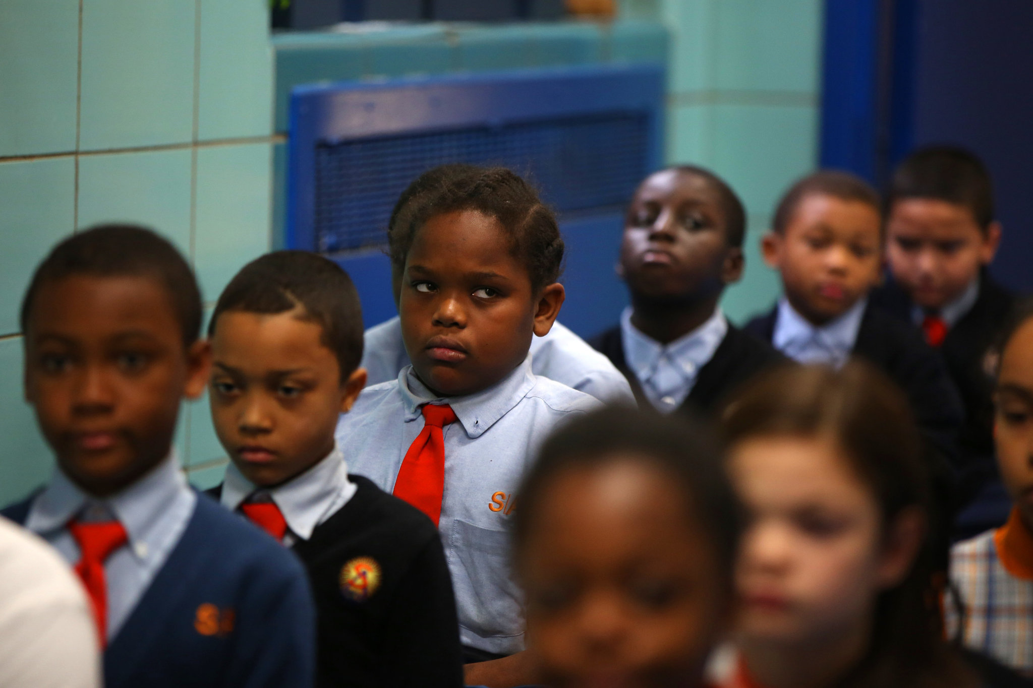 At Success Academy Charter Schools, High Scores and