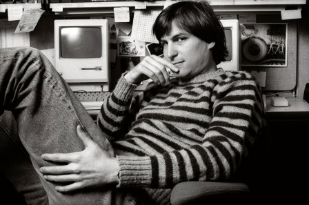 Image result for steve jobs young