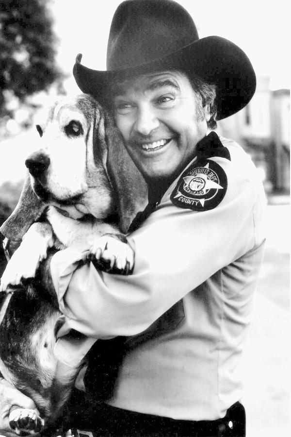 Rosco P Coltrane Dog Name : rosco, coltrane, James, Best,, Bumbling, Sheriff, Dukes, Hazzard,', Times