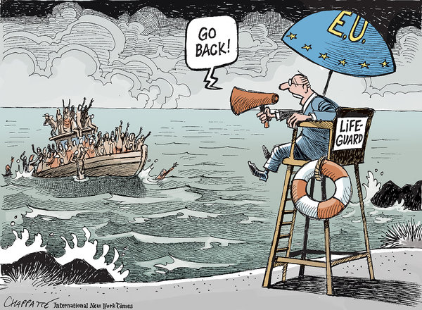 Opinion Migrants And The European Union The New York Times
