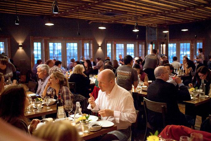 Rivermarket Bar  Kitchen in Tarrytown Quietly
