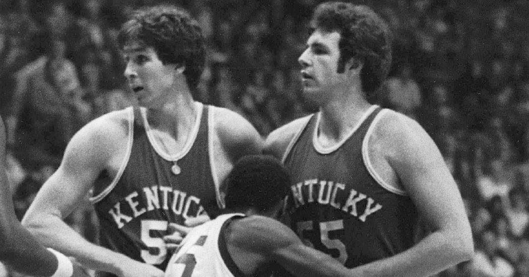 Mike Phillips Half Of Kentuckys Twin Towers Of