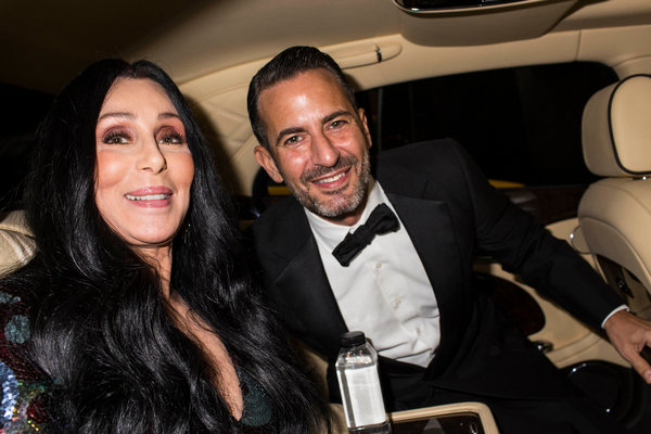 At The Met Gala Cher And Marc Jacobs Make A Dream Duo
