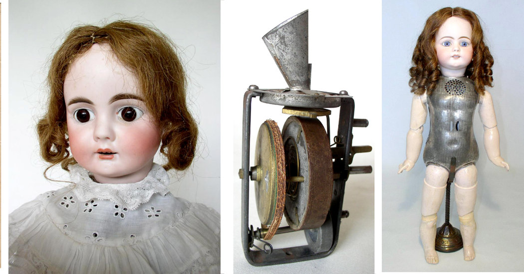 Ghostly Voices From Thomas Edisons Dolls Can Now Be Heard