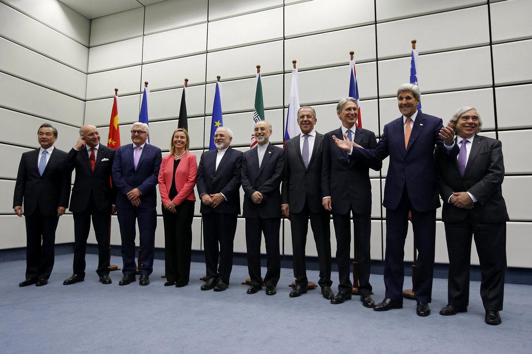 伊朗與六國集團正式達成核協議 - 紐約時報中文網
