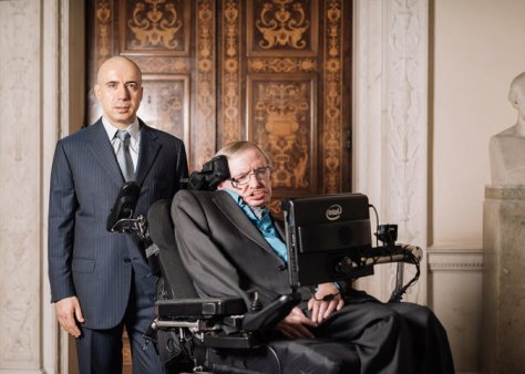 Yuri Milsner and Stephen Hawking
