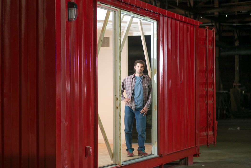 Moving Into a Shipping Container but Staying Put  The New York Times