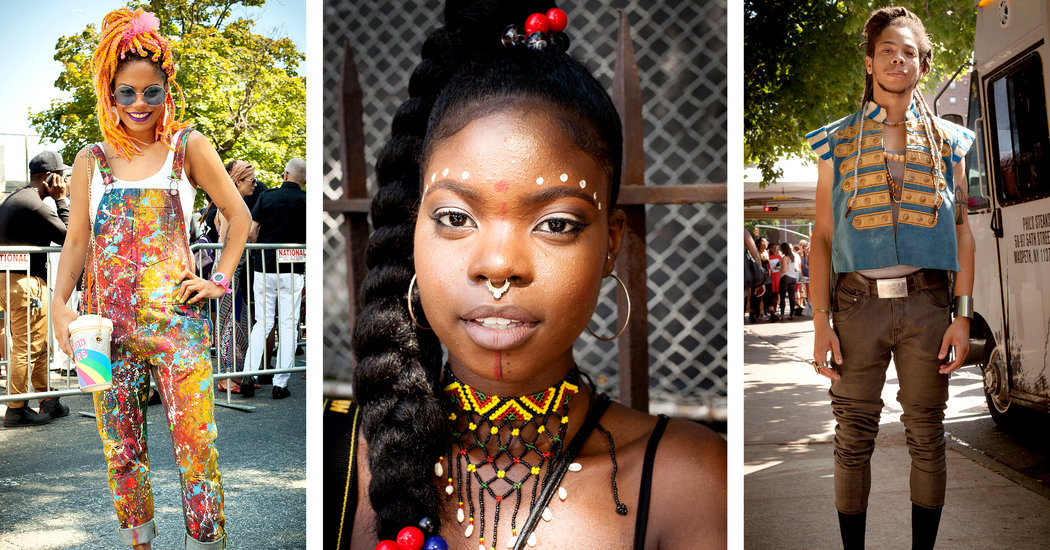 At Afropunk Fest A Kaleidoscope Of Fashion The New York