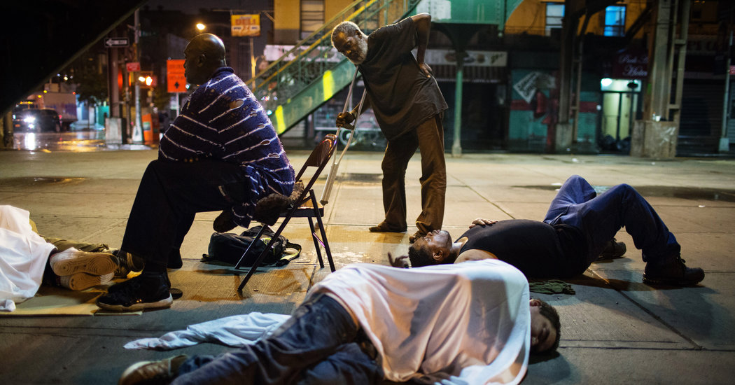 K2 a Potent Drug Casts a Shadow Over an East Harlem
