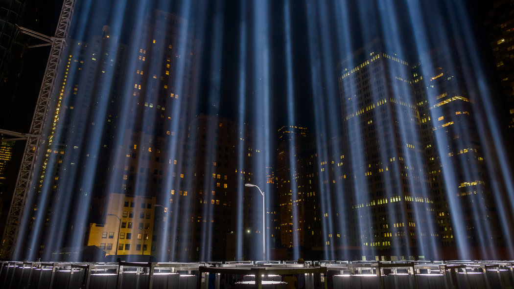 The Towering Lights of 911  Video  NYTimescom
