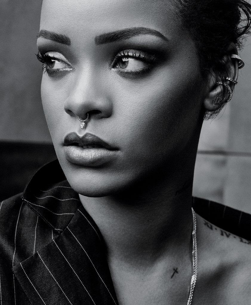 Rihanna Black And White : rihanna, black, white, Revealing, Conversation, Rihanna, Times