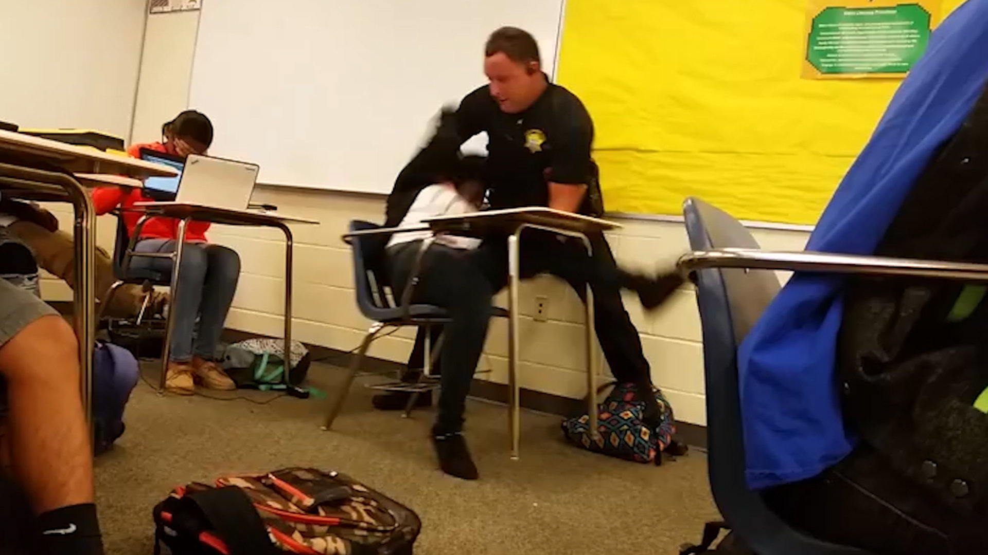 Deputy Who Tossed a SC High School Student Wont Be