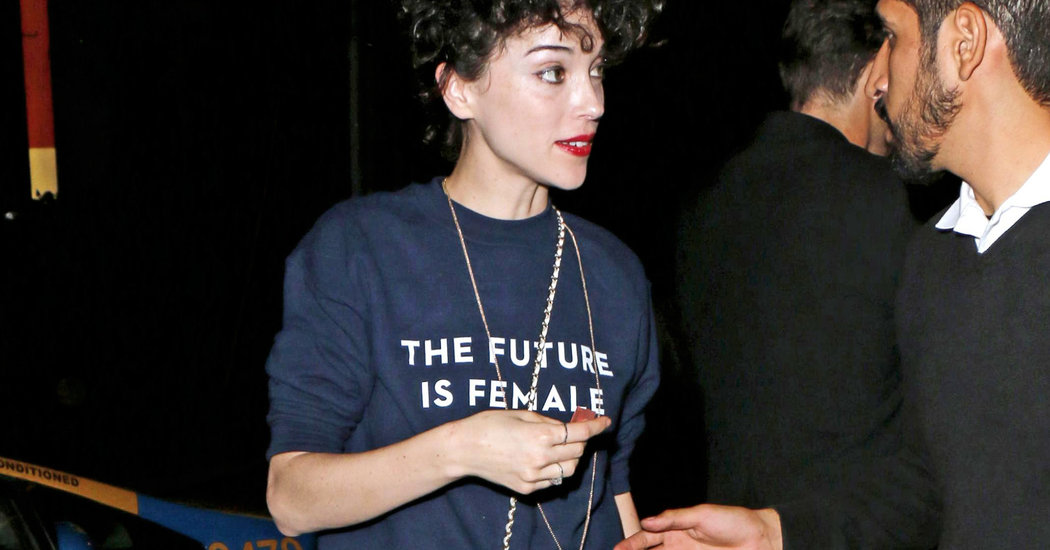 A Feminist TShirt Resurfaces From the 70s  The New York Times
