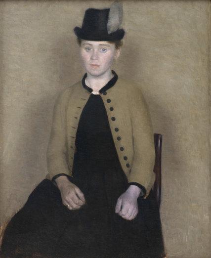 Vilhelm Hammershoi S Paintings At Scandinavia House The