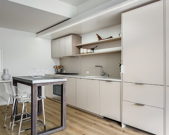 Small Kitchens By Choice The New York Times