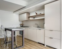 Small Kitchens, by Choice - The New York Times