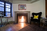 In New York, the Fireplace Flickers - The New York Times