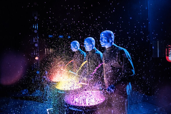 blue man group shows