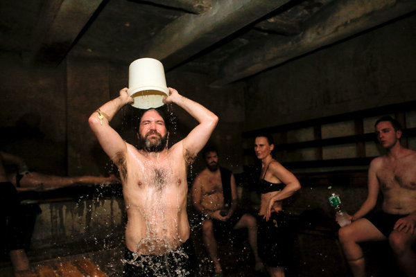 After 124 Years the Russian and Turkish Baths Are Still a