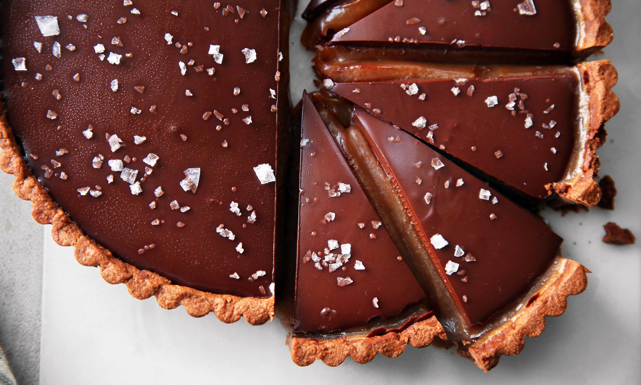 Chocolate Caramel Tart Recipe Nyt Cooking