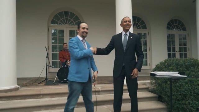 Lin-Manuel Miranda, 'Hamilton' Creator, Freestyles for Obama - The ...