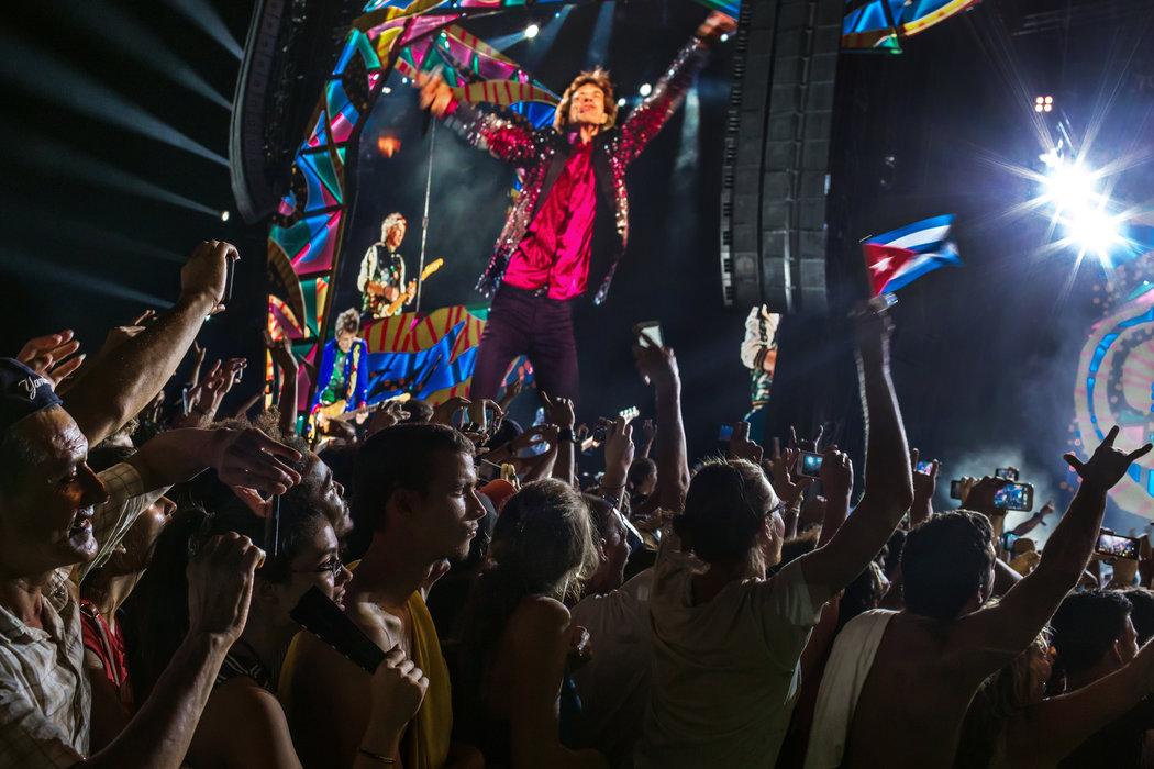 一週圖片精選:滾石樂隊唱響哈瓦那 - 紐約時報中文網