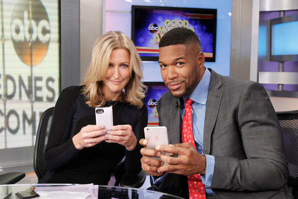 michael strahan switching shows