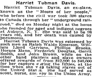 Tubman Ousts Jackson on $20's