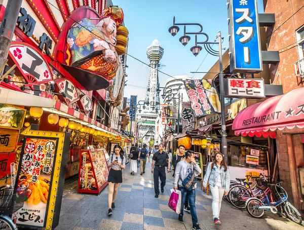 Heart Breaking Girl Wallpaper Enjoying Osaka S Famous Food Without Breaking The Bank