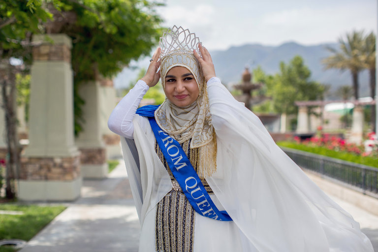 A Few Miles From San Bernardino A Muslim Prom Queen