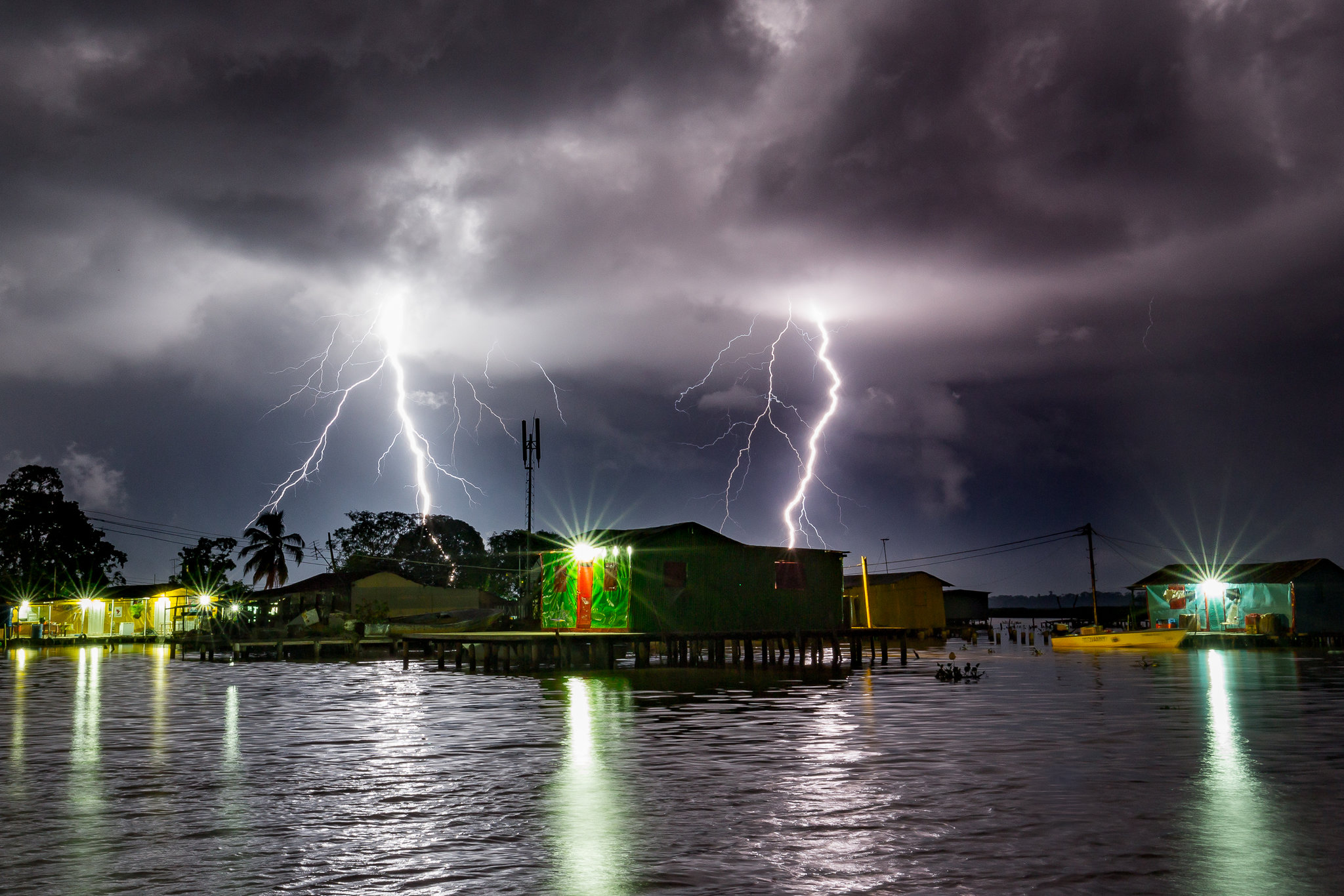a place where lightning strikes almost