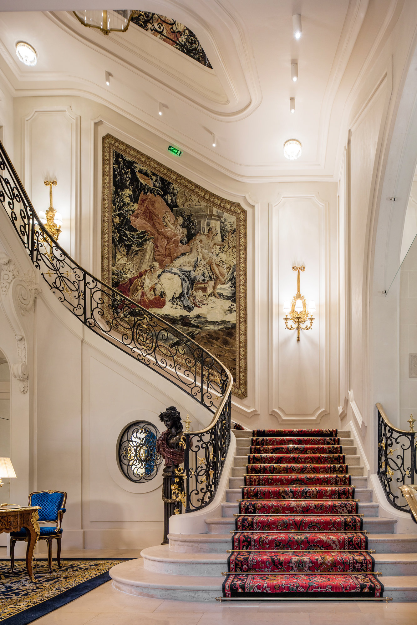 Exploring Renovated Ritz Paris - York Times
