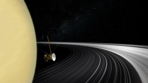 Cassini Final Mission Obliteration - York Times