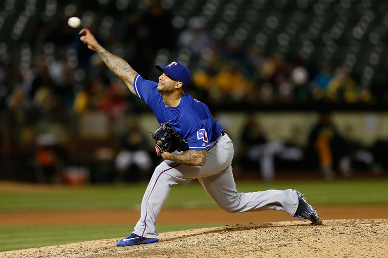 Out Of Prison Pitcher Relishes A Second Chance With The Rangers