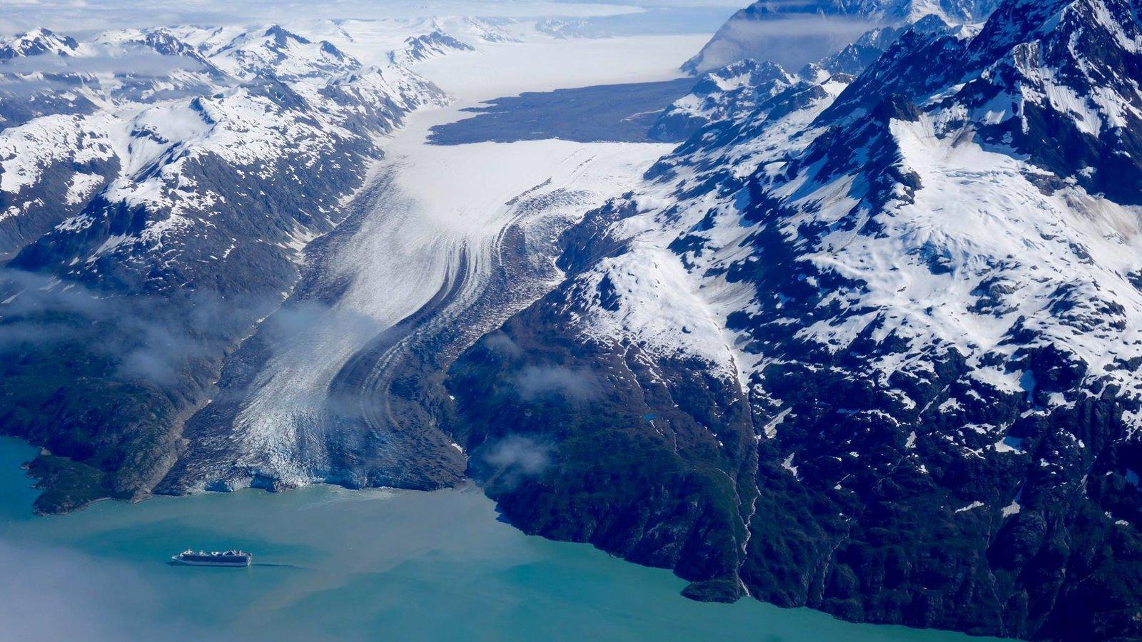 As Glaciers Melt In Alaska Landslides Follow