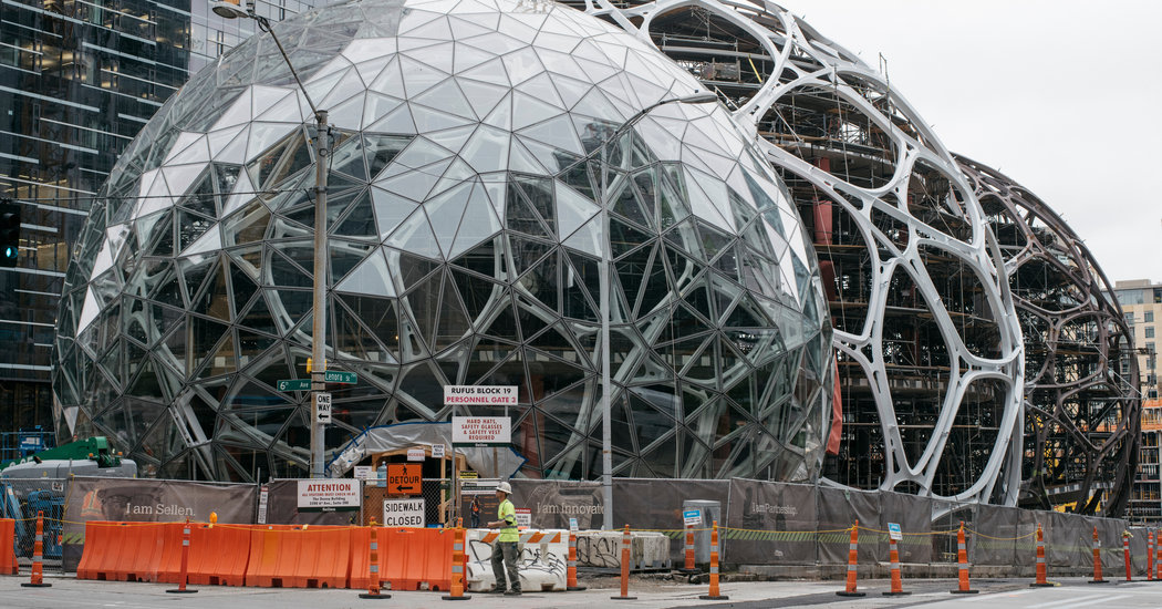 Forget Beanbag Chairs Amazon Is Giving Its Workers
