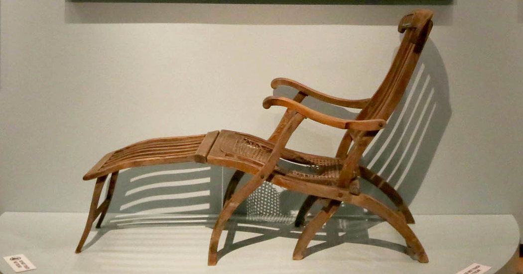 deck chair images what is a lift one titanic survivor goes on view the new york times chairone